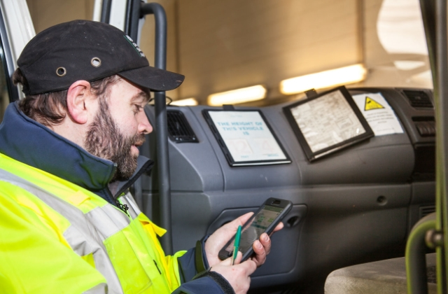 Vehicle standards assessor using a smartphone