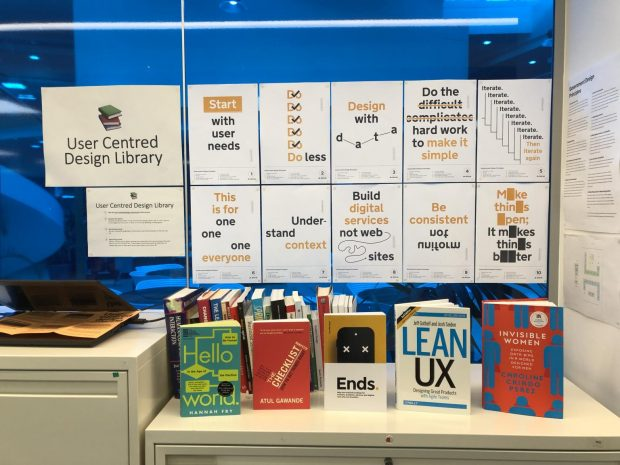 User centred design library at DVSA